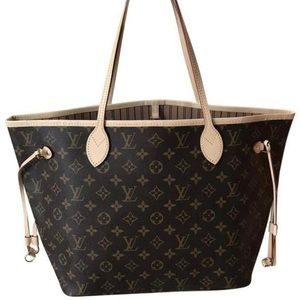 Louis Vuitton Neverfull MM Monogram Beige